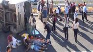Öğrenciler yerlere savruldu: 25 yaralı