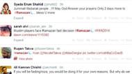 Twitter'dan ramazan sürprizi