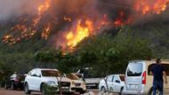 Antalya'da yangın otellere sıçradı