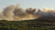 Bandırma'da volkan gibi patlama