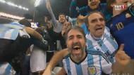 Arjantin portakalı soydu, finale çıktı