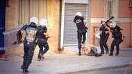 Polisin sokakta adam dövmesi işkence..