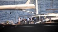 Murdoch ve ailesi Bodrum koylarında tatilde