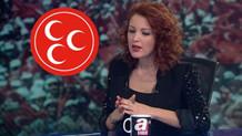 MHP'den Nagehan Alçı'ya sert Atatürk tepkisi: Küçücük beyni...