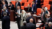 Meclis'te yeğen Öcalan gerilimi! Yaptığı konuşma büyük tepki çekti