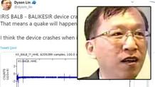 Tayvanlı deprem kahini Dyson Lin Manisa depremini 9 saat önceden bildi