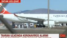 THY uçağında koronavirüs paniği: 132 kişi karantinada
