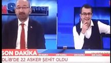 İdlib'den gelen şehit haberlerini gülerek sundu
