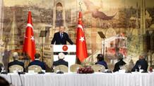 Erdoğan'dan Türkiye'nin Suriye'de ne işi var diyenlere yanıt: Terör örgütlerine teslim mi olalım?