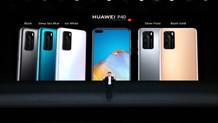 Huawei P40 serisinden sanal lansman