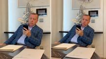 Fahrettin Altun paylaştı: Erdoğan, İspanya'da okunan ezanı böyle dinledi