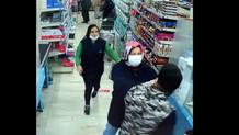 Esenyurt'ta markette corona yüzünden kavga çıktı