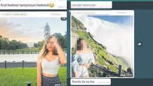 3 genç kızın çıplak fotoğraflarını whatsapp'a koyup..