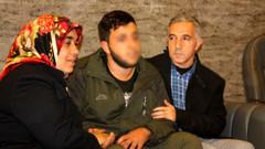 64 gün sonra HDP binası önünde nöbet tutan anne evladına kavuştu
