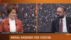 Meral Akşener bombayı patlattı: Davutoğlu ve Babacan'a vekil veririm