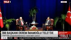 Ekrem İmamoğlu, Uğur Dündar'a açıkladı: Ya kanal, ya İstanbul