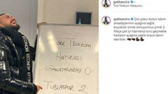 Selin Ciğerci'nin kocası Tuzlasporlu Gökhan Çıra'dan tepki çeken paylaşım