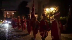 Merve Özbey'in nişan videosundaki Mehter Takımı detayı