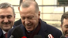 Erdoğan gazetecinin sorusunu beğendi: Aferin, bana unuttuğumu hatırlattın