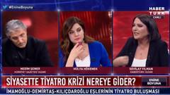 Nedim Şener ve Sevilay Yılman arasında çözüm süreci gerginliği: Senin gibi utanmaz...