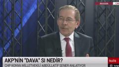 Abdüllatif Şener: Erdoğan seçimi iptal etmeyi bile düşünebilir