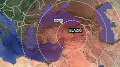 Elazığ depremi hangi ülkelerde hissedildi? 120 Milyon insan...