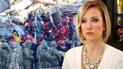 Berna Laçin'in Elazığ depremi paylaşımına tepki yağdı