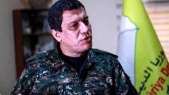 Kobani, Washington'dan yardım garantisi istedi