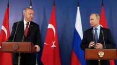 Erdoğan ile Putin'den çok kritik İdlib görüşmesi