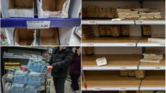 İtalya'da virüs korkusu:  Market rafları boşaldı! Ölü sayısı 7'ye çıktı