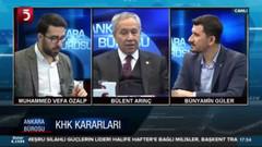 Arınç'tan Erdoğan ve AKP'ye flaş uyarı: Davutoğlu ve Babacan konuşursa testi çatlar..