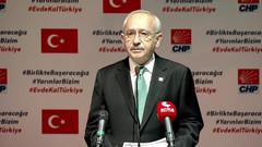 Kılıçdaroğlu: İşçi çıkarma yasağı getirilirse destek veririz