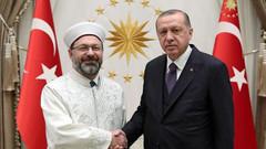 Diyanet İşleri Başkanı Ali Erbaş'ın bir maaş bağışlaması eleştirildi
