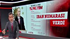Fatih Portakal'dan Erdoğan'ın IBAN numarası vermesine tepki