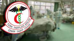 Vaka sayısı açıklayan İzmir Tabip Odası'nın sosyal medya hesapları kısıtlandı