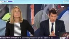 Fransız sunucudan Koronadan ölen Çinliler için skandal yorum!