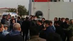 Korona çıkan işçinin arkadaşları iş bıraktı patron sopayla saldırdı