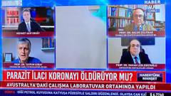 FETÖ'den tutuklanan profesör Habertürk TV'de canlı yayına çıkarıldı