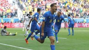 Brezilya son nefeste! Brezilya: 2 - Kosta Rika: 0