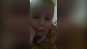 Hem ağladı hem ağlattı! Küçük kızın Atatürk sevgisi
