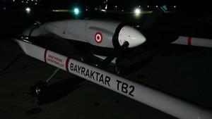 Türkiye'den Geçitkale Hava Üssü'ne ilk İHA havalandı
