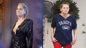 Sharon Stone tanınmayacak halde