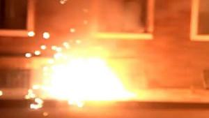 Kağıthane'de korkutan patlamalar
