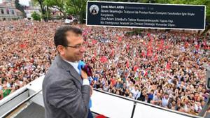AKP'li yönetici: İmamoğlu Trabzon'da Pontus Rum Cemiyeti tarafından böyle karşılandı