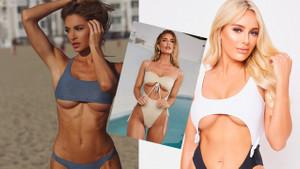 Plajların yeni trendi göğüs altı dekolteli bikiniler!