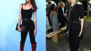 New York Moda Haftası'na ünlüler akın etti