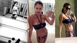 Adriana Lima kimmiş diyen Tuğba Ekinci kalçasını gösterdi