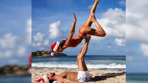Kevin Trapp ve nişanlısı Isabel Goulart'ın Noel paylaşımı sosyal medyayı salladı