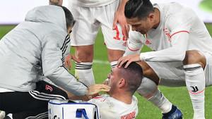 Juventus Roma maçında kahreden görüntü! Merih Demiral golünü attı ama...