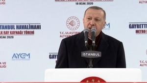 Erdoğan'dan İmamoğlu'na: Siyasi şaklabanlık yapıyor